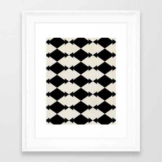 Little Bow Tie Framed Art Print