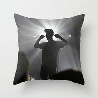 Concert In Moscow Throw Pillow