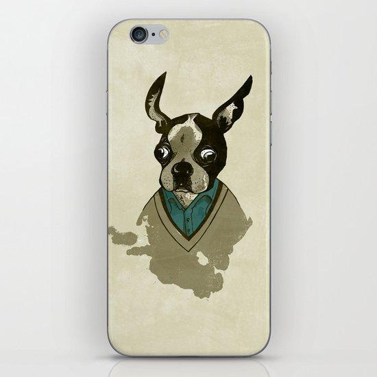 perfect gentleman iPhone & iPod Skin