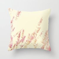 Lavender Throw Pillow