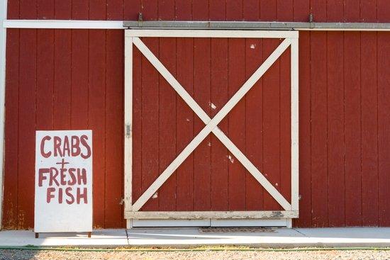 Crabs & Fresh Fish Art Print