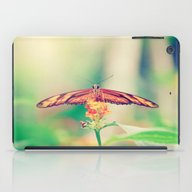 Butterfly Retro iPad Case