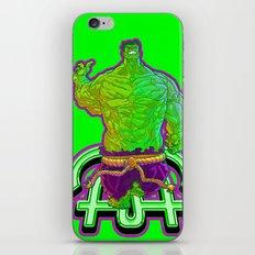 Incredible Hulk iPhone & iPod Skin