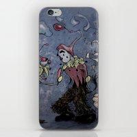 Night Clown iPhone & iPod Skin