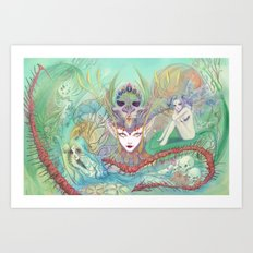 The Secret of Fantasies Art Print