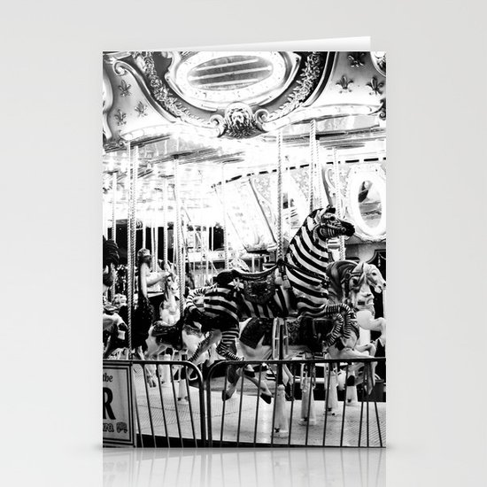 Carousel Stationery Card
