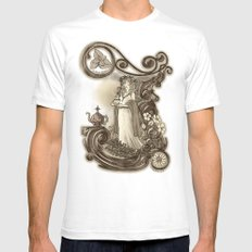 T is for Tea SMALL Mens Fitted Tee White
