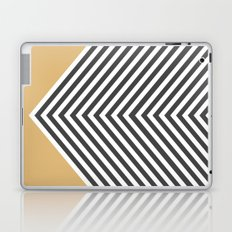 Gold Chevron Laptop & iPad Skin