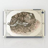 Buffalo Portrait iPad Case