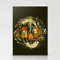 Animal Chants & Forest W… Stationery Cards
