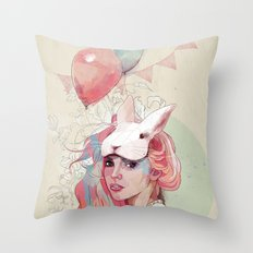 Sweet Party Throw Pillow