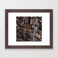 Viking Tribal Framed Art Print