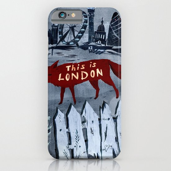 Locals/Only - London iPhone & iPod Case