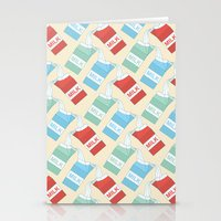 Don't cry over spilt milk Stationery Cards