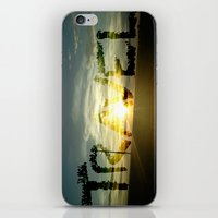 Clearly A Sunset iPhone & iPod Skin