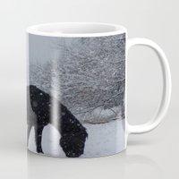 Snow Horse Mug