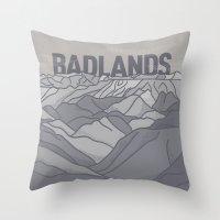 Badlands Throw Pillow