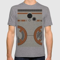 BB-8 Mens Fitted Tee Athletic Grey SMALL
