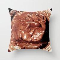 New-Tella Throw Pillow
