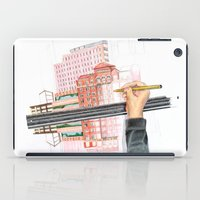 Drawing reflections iPad Case