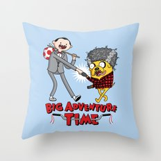 Time For a Big Adventure Throw Pillow