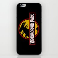 Xenomorphic Park  iPhone & iPod Skin