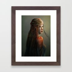 Princess from the East Framed Art Print