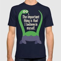 Myth Understood Mens Fitted Tee Navy SMALL