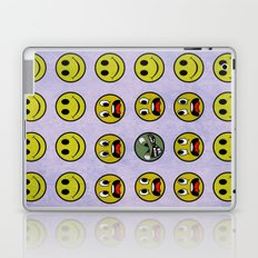 Attack of the Zombie smiley! Laptop & iPad Skin
