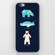 The 3 H's of Bear Life iPhone & iPod Skin