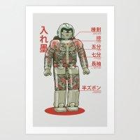 Bad Assimo Art Print