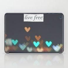 Live Free  iPad Case