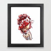 Ri-xaggeration  Framed Art Print