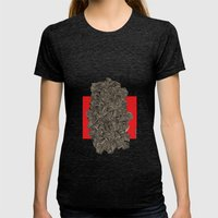 - Metro - Womens Fitted Tee Tri-Black SMALL