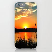 iPhone & iPod Case featuring Tidewater Sunset  by Thephotomomma