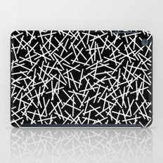 Kerplunk Black and White Repeat #2 iPad Case