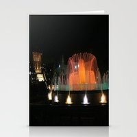 Barcelona Fountain Stationery Cards