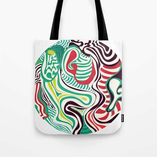 Act and Shout Tote Bag