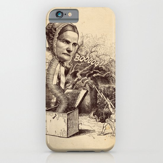 The Striking of the Lasia Monster iPhone & iPod Case