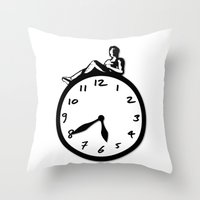 Overtime Throw Pillow