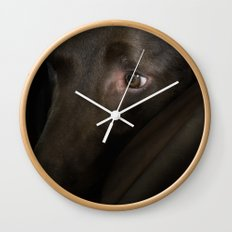 My Friend Chocolate Lab Wall Clock