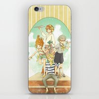 The Mermaid Club iPhone & iPod Skin