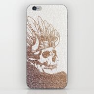 iPhone & iPod Skin featuring The Warrior by Paula Belle Flores