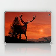 Deer On A Hill Laptop & iPad Skin