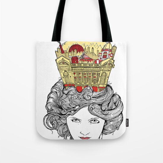 The Queen of Montreal Tote Bag