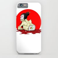 iPhone & iPod Case featuring raw sushi by Andrew Mark Hunter