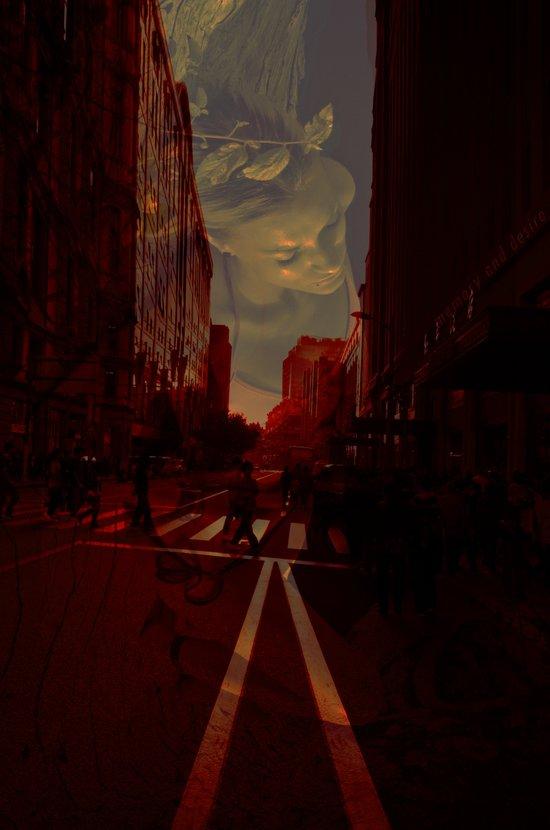Cities and Desire II Art Print