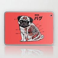 Pug Anatomy Laptop & iPad Skin