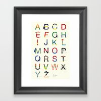ABC SH (Option 2) Framed Art Print