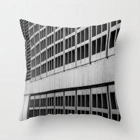 Urban Geometry Throw Pillow